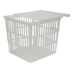 Basket with Lid 9x9x9