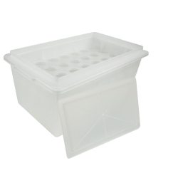 Spill Containment Tray with Rack & Rack Cover
