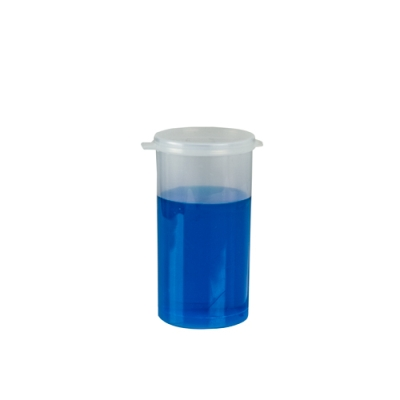 4.27 oz. Clear Hinged Lid LA-Vials®