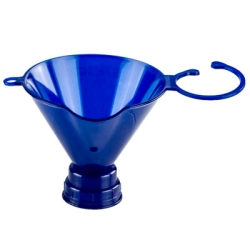 Blue Threaded Funnel for 24mm & 28mm Neck Finishes