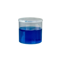 11.02 oz. Clear Hinged Lid LA-Vials®