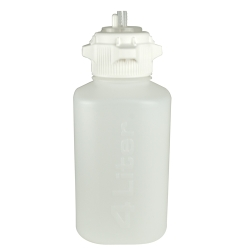 4L Polypropylene Heavy Duty Vacuum Bottle with 83mm Open Cap