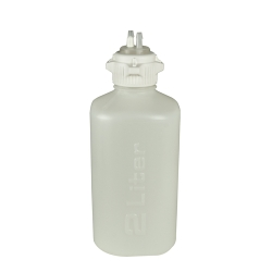 2 Liter HDPE Heavy Duty Vacuum Bottle with 53 mm Open Cap