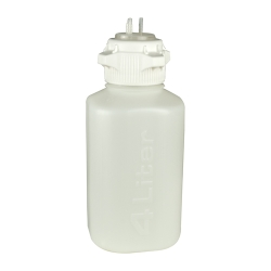 4L HDPE Heavy Duty Vacuum Bottle with 83mm Open Cap