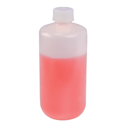 60mL Narrow Mouth HDPE Reagent Bottles with 20/415 Caps - Pack of 12