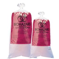 "12"" X 24"" Biohazard Disposal Bags"