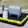 UltraTech Collapsible Wall Spill Containment Berm, 10' x 10' x 1'