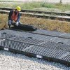 UltraTech Ultra Track Spill Containment Pan, Center Pan With Grates