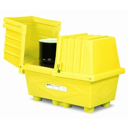 Poly-Safetypack ® Yellow ack with Lid