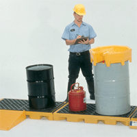 UltraTech 3 Drum Inline Spill Containment Deck