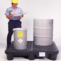 UltraTech Ultra Spill Pallet P2-1500 and P4-3000