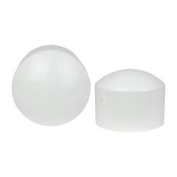 4 Schedule 40 White PVC Socket Cap