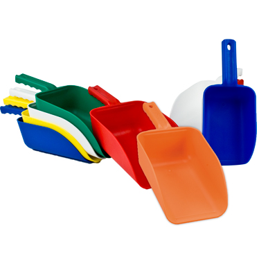 Color Coded Hand Scoops