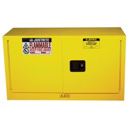 17 Gallon Self-close Justrite ® Sure-Grip ® EX Piggyback Cabinets
