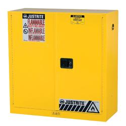 30 Gallon Manual Justrite ® Sure-Grip ® EX Safety Cabinet