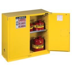 30 Gallon Self-Close Justrite ® Sure-Grip ® EX Safety Cabinet
