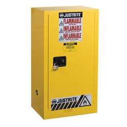 15 Gallon Self-Close Justrite ® Sure-Grip ® EX Compac Cabinet