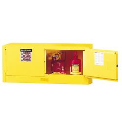12 Gallon Manual-close Justrite ® Sure-Grip ® EX Piggyback Cabinets