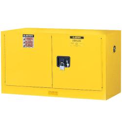 17 Gallon Manual-Close Justrite ® Sure-Grip ® EX Wall Mount Cabinet