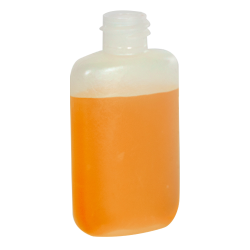 1-1/4 oz. LDPE Oval Bottle with 18/410 Neck (Cap Sold Separately)