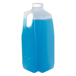 1/2 Gallon Jugs with 38mm White Threaded Caps - Case of 108