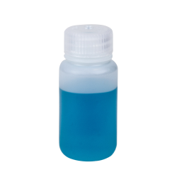 2 oz./60mL Nalgene™ Wide Mouth Economy HDPE Bottle with 28mm Cap