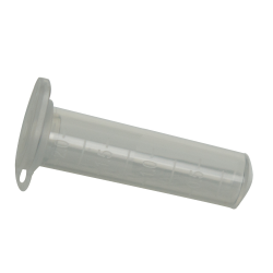 2mL Natural Polypropylene Microcentrifuge Tubes with Snap Caps - Case of 500