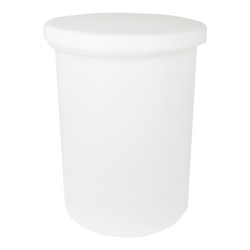 7-1/2 Gallon Cylindrical Polypropylene Tank with Cover - 12