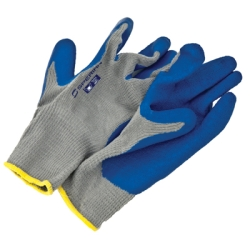 Large Rubber Coated Knit Gloves