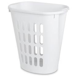 Sterilite ® White Open Laundry Hamper - 21