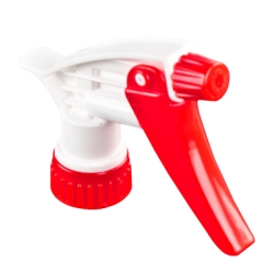 28/400 Red & White Spray Head with 9-1/4