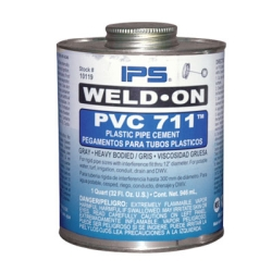Pint Gray IPS ® Weld-On 711™ PVC Cement