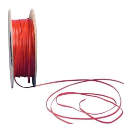 Red Plastic Ties