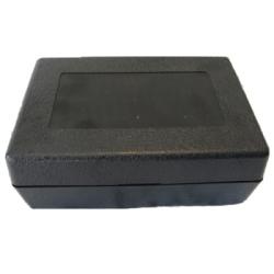 Black ABS Hinged Storage Box - 6-1/8