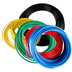 4mm ID x 6mm OD Black Nylon Tubing