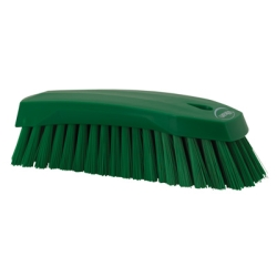 Green Scrub Brush w/Stiff Bristle