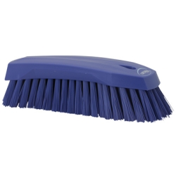 Purple Scrub Brush w/Stiff Bristle