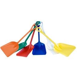 White Polypropylene Shovel 11