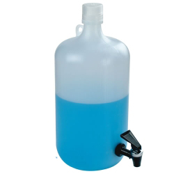 5 Gallon Tamco ® Modified Nalgene™ LDPE Carboy with a Fast Draw Off Spigot
