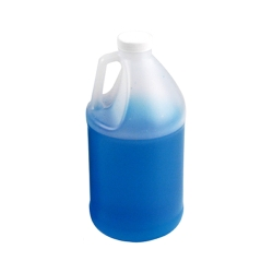 1/2 Gallon Round Translucent Jug with 38/400 Cap