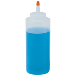 8 oz. Wide Mouth LDPE Bottle with 38mm Dispensing Cap