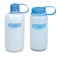 Natural Nalgene® HDPE Loop Top Bottles