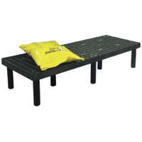 "12"" x 24"" x 96"" Grid Top Dunnage Rack™ 1500# Capacity"