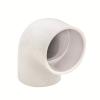 "3/8"" Schedule 40 White PVC Socket 90° Elbow"