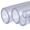 "3/8"" Clear Rigid Schedule 40 PVC Pipe"
