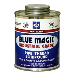 Whitlam Blue Magic Pipe Thread Compound