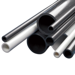 "16"" Gray PVC Schedule 80 Pipe"