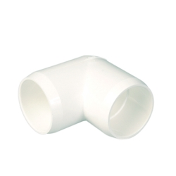 "1-1/4"" White Elbow"
