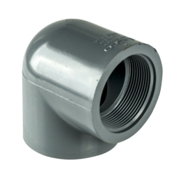"3/8"" 90° CPVC Threaded Pipe Elbow"