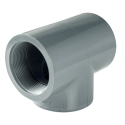 "1-1/4"" CPVC Threaded Tee"